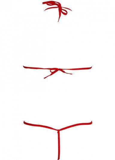 Kırmızı Fantazi iç Giyim Tedy