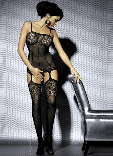 SexySiyah Vücut Çorabı
