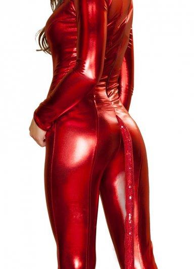 Kırmızı Şeytan Kız Kostümü