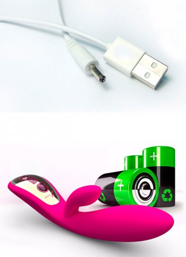 Sese Duyarlı USB Şarzlı Slikon Orgazm Vibratör
