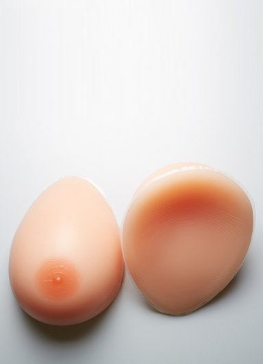 Gerçekçi Silikon Takma Göğüs Protezi