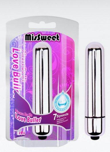 Max Love Bullet Taşınabilir Mini Masaj Vibratörü