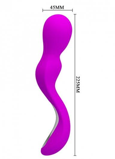 Ergonomik Unisex Orgazm Masaj Vibratörü Güçlü ve sessiz motor