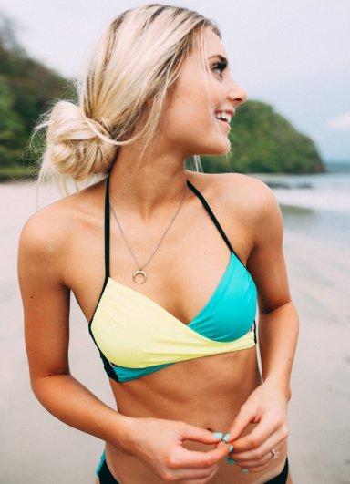 Renkli Şık Tasarım Bikini Alt