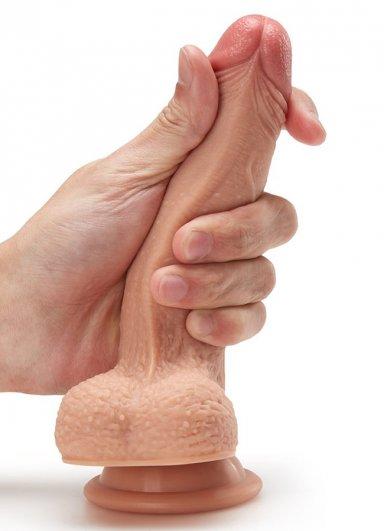 Extra Yumuşak Et Dokusunda 18 Cm Penis