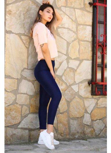 Termal Tayt Lacivert Kadın Giyim