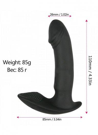 Titreşim Fonksiyonlu Silikon Külot İçi Orgazm Vibratörü