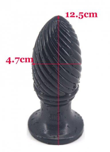 Spiral Şekilli Anal Plug Tıkaç