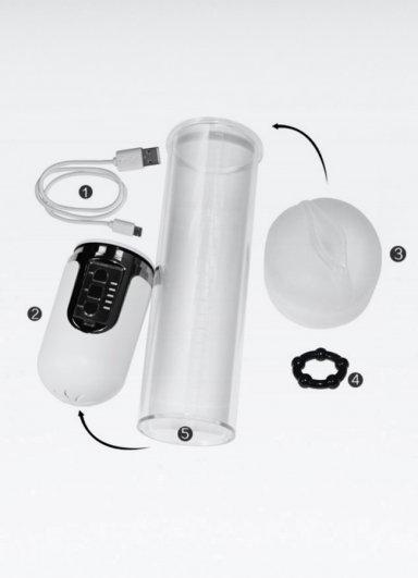 Sarjlı Otomatik Maximizer Vx 5 Penis Pompası
