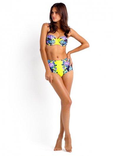 Renkli Şık Bikini üst