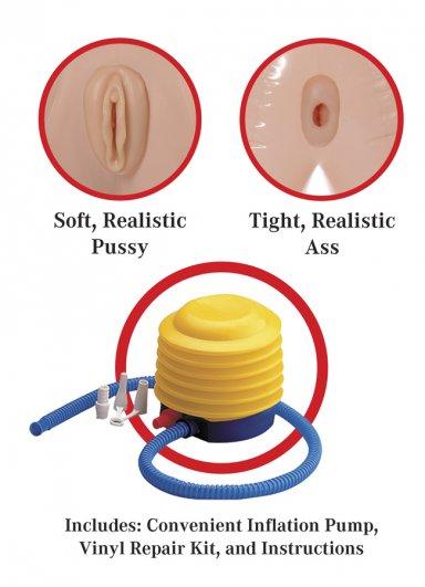 3D Tasarım 3 İşlevli Şişme Manken