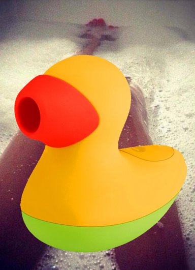 Şanslı Ducky Shockwawe Vibratör