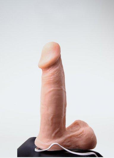 Vengeance Belden Bağlamalı Vibratörlü Penis