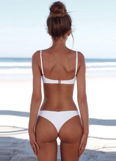 Angelsin Beyaz Bikini Alt