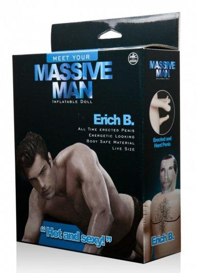 Massive Man Erkek Şişme Bebek Erich B