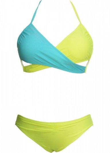 Renkli Sexy Şık Tasarım Bikini