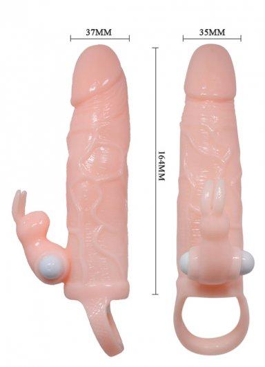 Ten Dokusunda Penis Kılıfı Klitoris Uyarıcılı