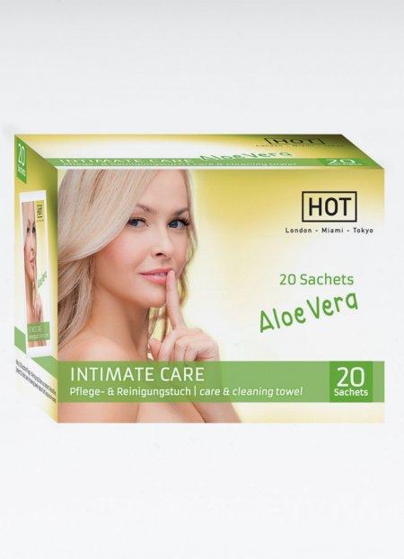 HOT Intimate Care Nemlendirici Temizleme Mendili 20 Adet   0545 356 96 07