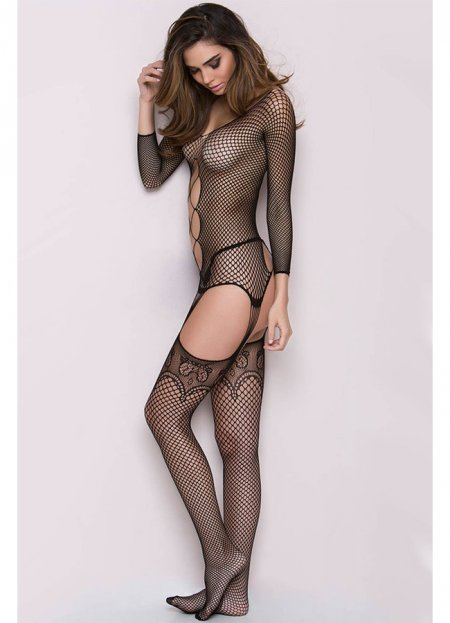 Nokta Shop File Jartiyerli Vücut Çorabı | 0545 356 96 07