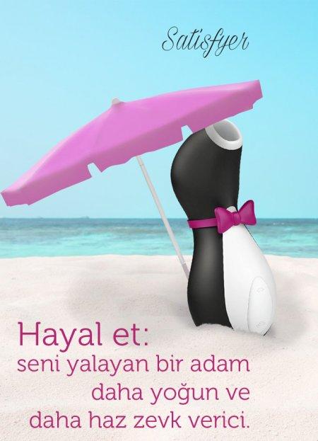 Satisfyer Pro Penguin Clitoral Oral Vibratör | 0545 356 96 07