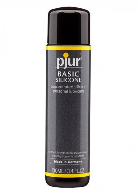 Pjur Basic Silikon Bazlı Kayganlaştırıcı 100 ml | 0545 356 96 07