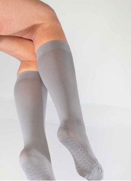 Teni Göstermeyen Mikro Dizaltı Çorap Gri | 0545 356 96 07