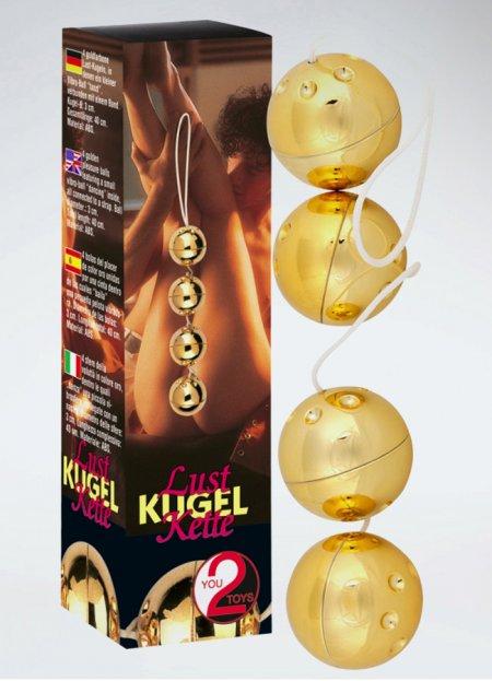 Gold Vibro Balls 4lü Masaj Topları | 0545 356 96 07