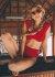 Kırmızı Özel Tasarım Bikini Alt