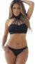 Siyah Özel Tasarım Şık Model Bikini