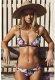Desenli Şık Özel Tasarım Bikini