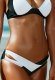Siyah Beyaz Bikini Alt