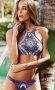 Renkli Süper Tasarım Tankini Bikini