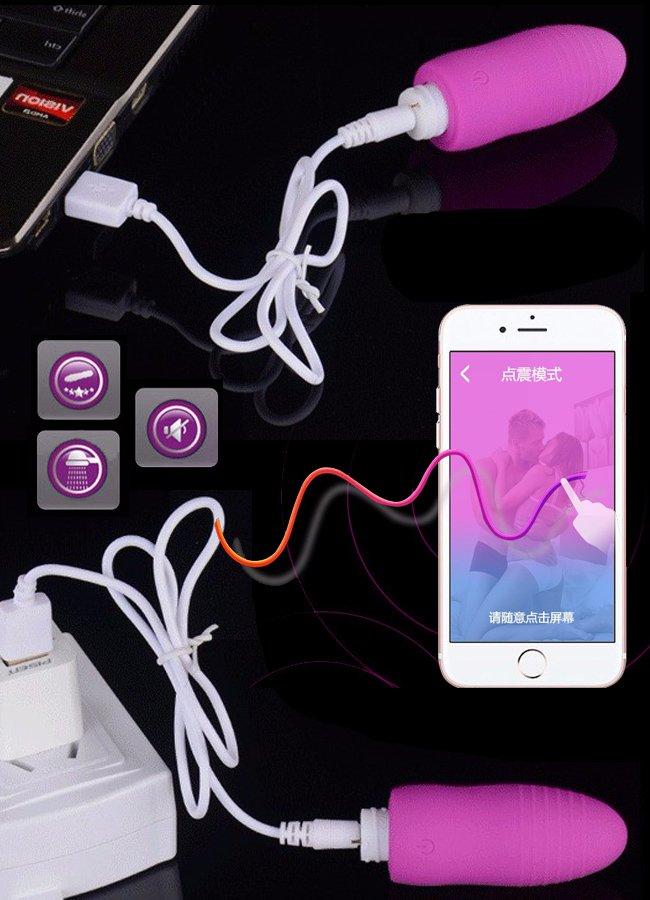 App Kontrolü Akıllı Orgazm Yumurtası
