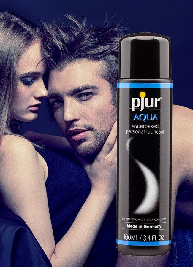 Aqua Pjur Üst Seviye Su Bazlı Kayganlaştırıcı | 0545 356 96 07