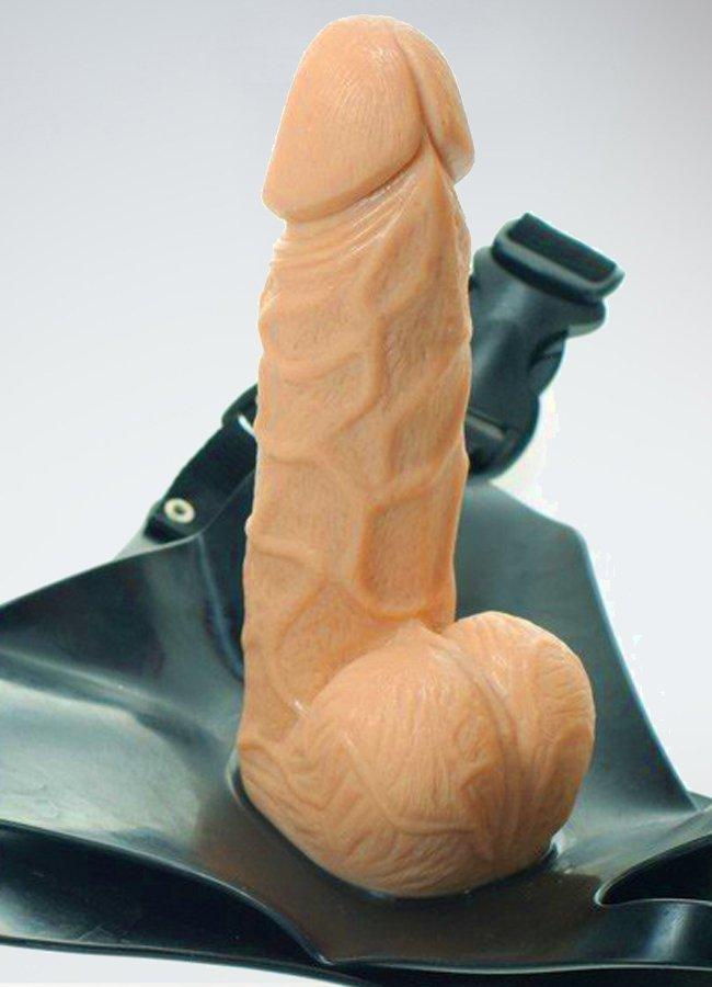 Belden Baglamalı Realistik Penis