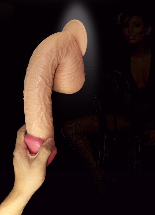 Extra Large Realistic Dildo 29.5 Cm