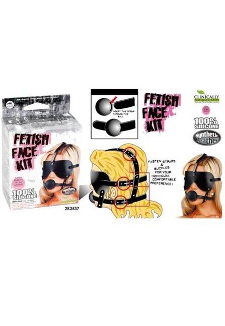 Fetiş Yüz Maskesi Kiti | 0545 356 96 07