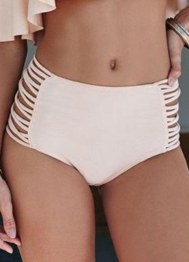 Angelsin Pembe Çok Şık Bikini Alt