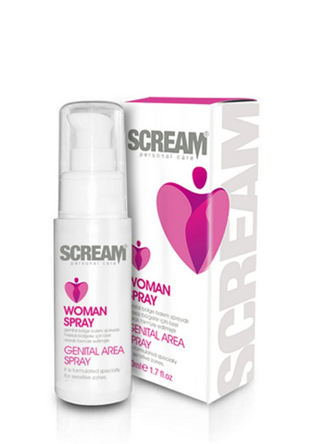 Scream Women Genital Area Spray | 0545 356 96 07
