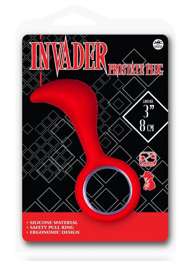 Invader Prostate Plug Kırmızı Anal Tıkaç | 0545 356 96 07