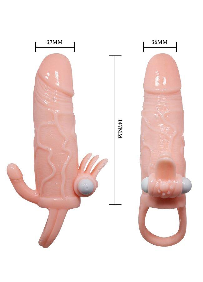 Ten Rengi Penis Kılıfı Klitoris ve Anal Uyarıcılı | 0545 356 96 07