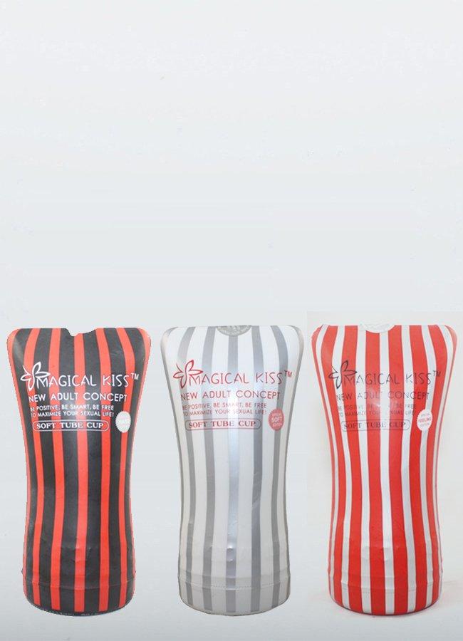 3 Farklı Renkte Soft Tube Cup Ultra Size