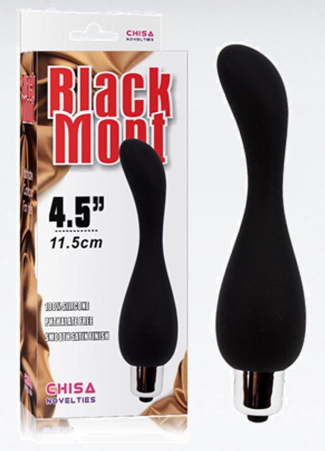 Black Mont Titreşimli Anal Tıkaç Plug   0545 356 96 07