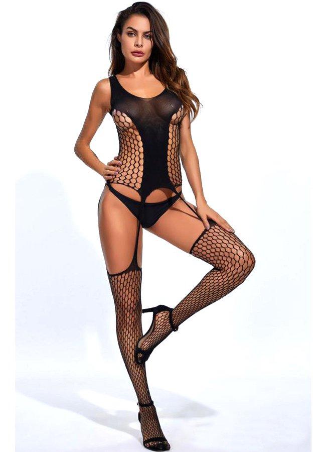 Vücut Çorabı Geniş Fileli   0545 356 96 07