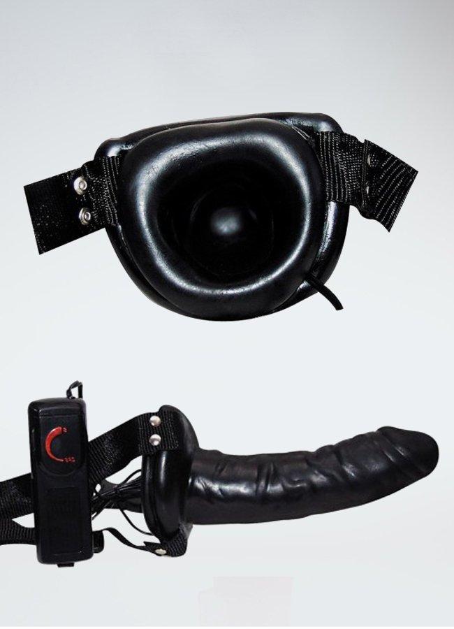 Robotic Zenci İçi Boş Belden Bağlamalı Penis | 0545 356 96 07