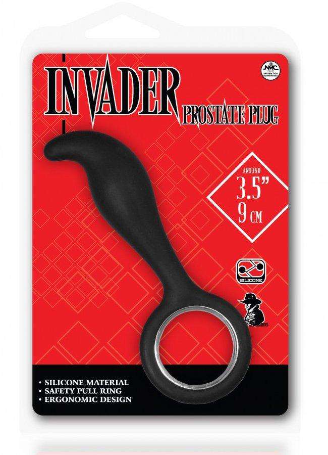 Invader Prostate Plug Siyah Anal Tıkaç | 0545 356 96 07