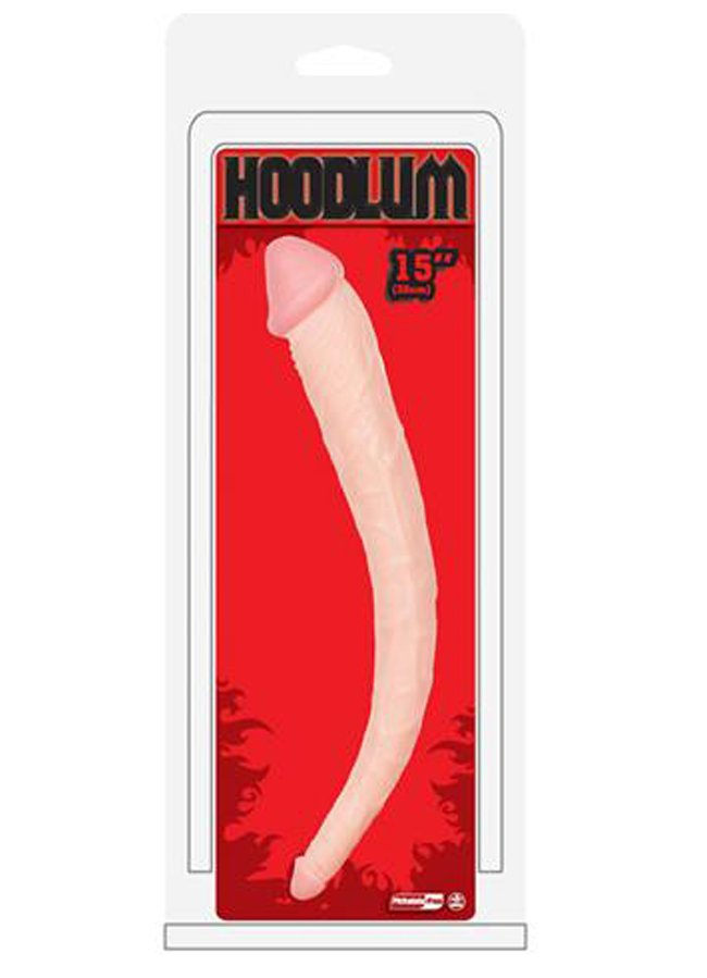 Hoodlum 38 Cm Çift Taraflı Dildo   0545 356 96 07