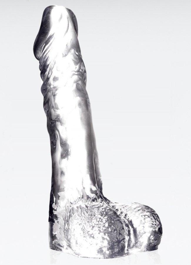 Luxy Jel Şeffaf Dildo 18 Cm