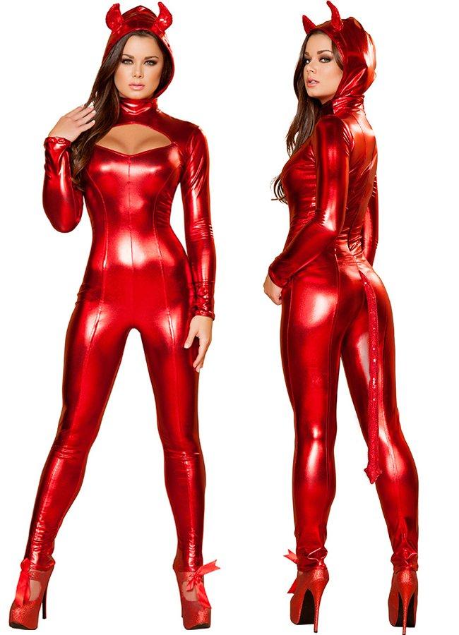 Kırmızı Şeytan Kız Kostümü   0545 356 96 07