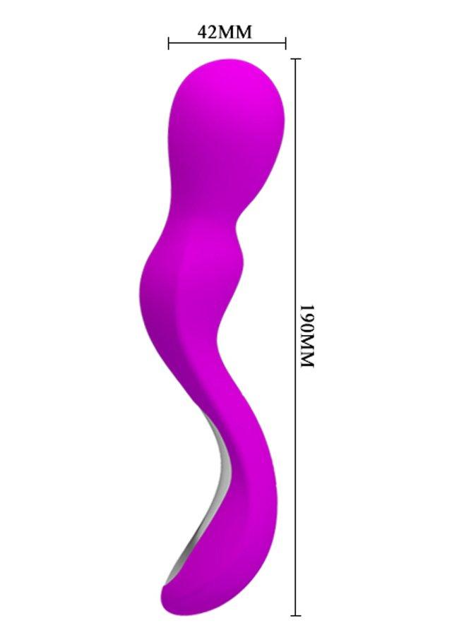 Vibrasyonlu Unisex Masaj Vibratör Kablosuz kullanım kolaylığı